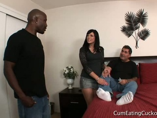 Interracial cunt eating and blowjob by andy san dimas