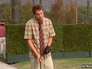 Hot Kristina Anapau Learing to Play Golf