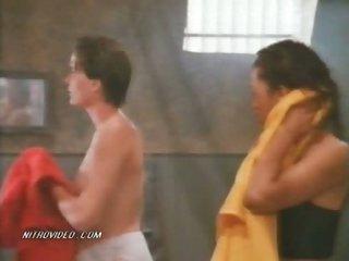 Sexy Lori Jo Hendrix & Rebecca Chambers Showering in Prison