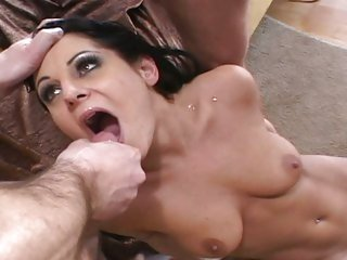 Tart Ariana Jollee gets covered in hot dick sauce