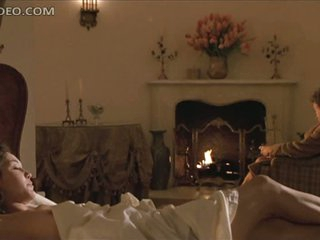 Hot Diane Lane Waking Up After a Long Night of Pure Sex