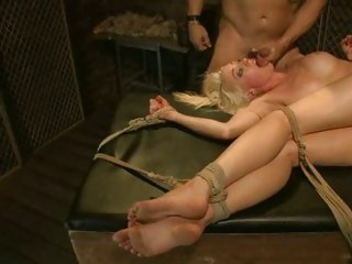 Slutty Lorelei Lee gets her face drenched with cum