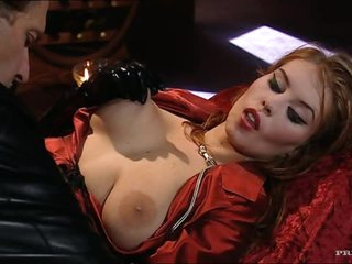 Busty Blonde Has Serious Hardcore Anal Sex With A Big Cock