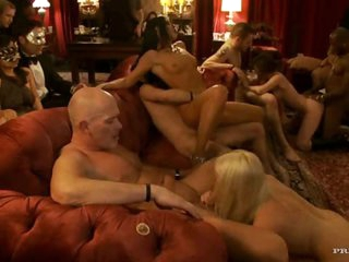 Babes Have Hardcore Group Sex With Big Cocks
