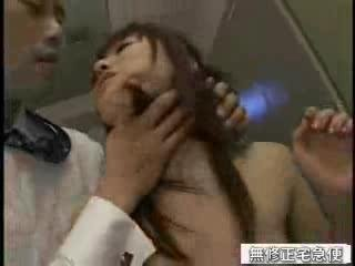 Asian schoolgirl fucked in the locker room