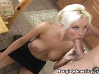 Slutty whore Brandi wants a big massive pole to enter her dripping cunt