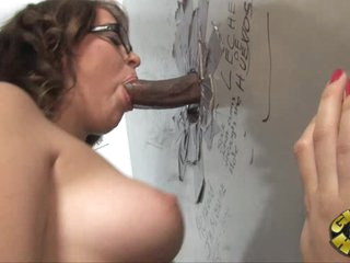 Horny Alice Bell drools on this tasty skin flute