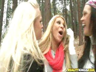 Lesbian orgy romp will make you horny
