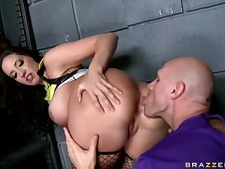 Hot and hardcore action with big ass Kelly Divine