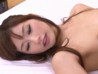 Cute Girl With Small Tits Sucking Cock Licked In 69 Fucked While Sucking Other Guy Cock Cum To Belly On The Bed