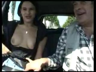 Road sex french slut
