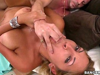 Latin MILF loves young dick