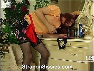 Trinity&Maurice strapon sissysex movie