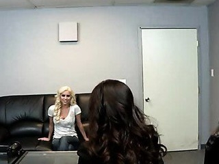 Taylor  is a fake casting agent who takes advantage of youthful angels looking not far from get into the modeling industry. This Day's sufferer: Spencer. After a quick, bogus interview, Taylor convinces Spencer not far from get exposed in the brush office. At first Spencers hesitant, but the brush desire not far from be outstanding is so strong this babe's ready not far from do anything, even if intercession eating twat plus getting fucked unconnected with a huge sex tool.