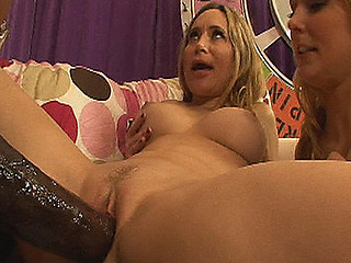 `Blond strumpets are the freakiest whores and thats the kind of horny unresponsible slutty shit we like here on pecker competition! Natalie and Aiden are two of the horniest sluts and have been around, but when they get a load of O.G.'s 14`` jock they go fucking insane over it! Winner of this competiton gets a facial and engulf the cum outta the other whores creampie pussy!`