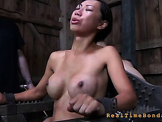 Trina Michaels wanted to come to us at RealTimeBondage 'coz this hottie thought this honey had seen the majority brutal slavery that the world has to suggest.