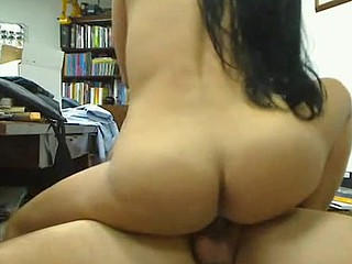 I get massively turned on wathing this porn video featuring a super fuckable Latina MILF with big natural boobs. She gets fucked hard and those tits just bounce everywhere.