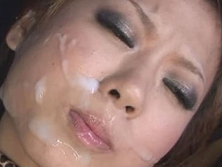 Yuki Mukai 's partner fondled and sucked her bazookas  used a vibrator on her cookie and finger fucked fucked her til that babe squirted her juice. That Babe returned the favour by engulfing his ramrod and letting her fuck her in different poses.