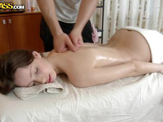 Take a look at that angelic body and face, her name is Nene and she's perfect! The guy massages her and oils that sexy booty, fingering it and rubbing her pussy to make her horny. He got where he wanted and now she sucks his hard dick. Who could have think that such an innocent beauty knows to such it like that