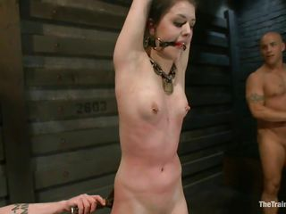 They are taming this slut to the cock. However, before inserting the cock into any of her crevice they are trying to make sure that she understands her position very clearly, which is to make sure that she fulfills each and every demands of cock and make sure that she pleases the cock at all costs.